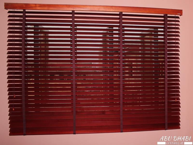 Buy Best Wood Venetian Blinds Dubai Abu Dhabi Al Ain Uae